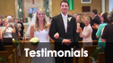 wedding videography testimonials