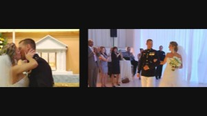 wedding video by professional videographer in Rhode Island