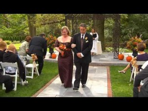 wedding video by professional videographer in Easton PA